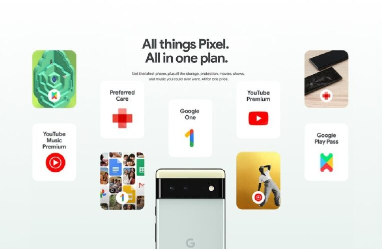 Pixel Pass Subscription Plans Announced, Will Bundle Pixel 6 Series Phones With Google Services