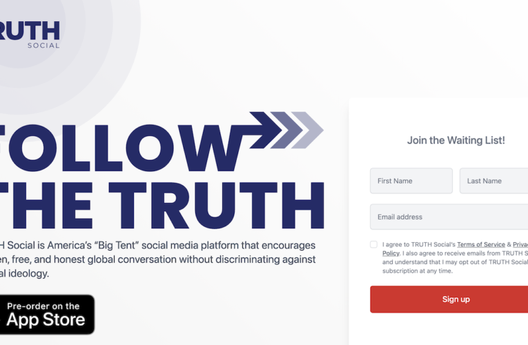 TRUTH Social: Donald Trump Launches His Own Social Media App to 'Stand Up to Big Tech'